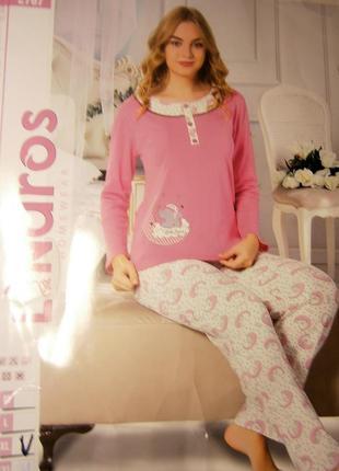 Чудесная пижама,для подарка к новому году. (турция.)
