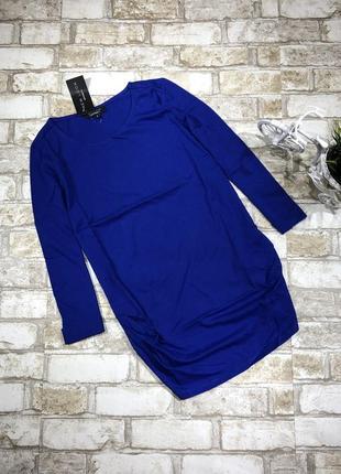 Яркий трикотажный реглан для беременных, удлиненная футболка 3/4 рукав4