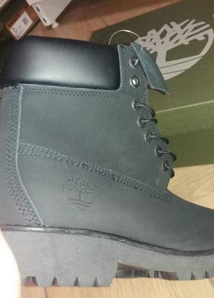 Черные женские зимние ботинки timberland с мехом разные размеры в наличии5