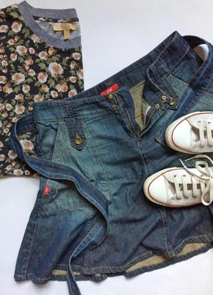 Джинсовая юбка xx jeans by mexx1