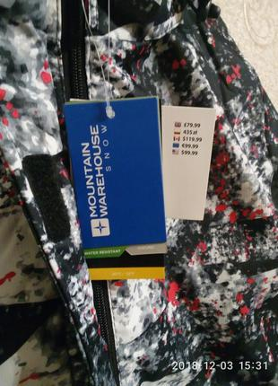 Лыжная куртка женская mountain, размер 584 фото