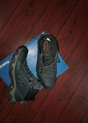 Кожаные зимние ботинки mida