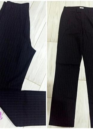 Зимние прямые брюки stefanel на 44-46 размер2