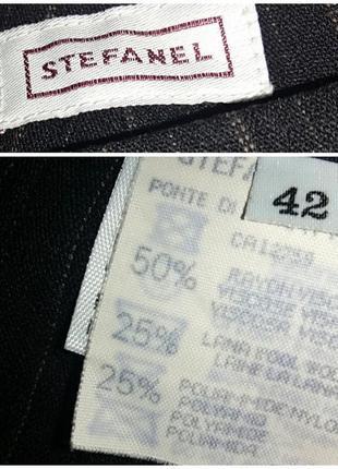 Зимние прямые брюки stefanel на 44-46 размер4