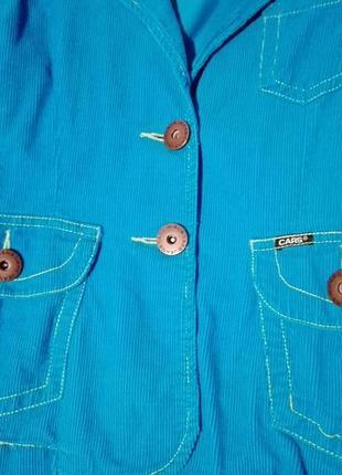 Пиджак вельветовый1
