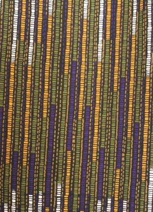 Брюки клеш h&m. разноцветные брюки палаццо5 фото