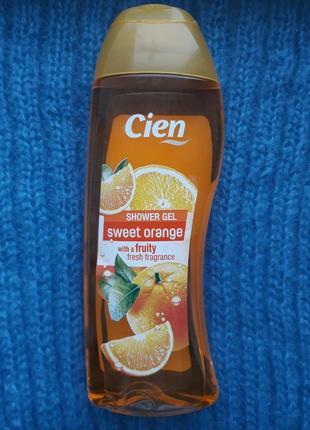 Гель для душа сладкий апельсин cien германия 300 мл1