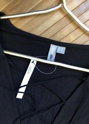 Заходи на онову! вторая вещь -20%новый с биркой! комбинезон с шнуровкой на груди asos4 фото