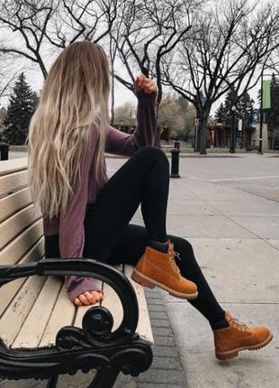 Ботинке в стиле timberland1