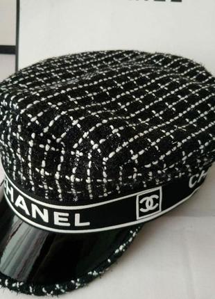 Кеппи женское кепи женский кепка женская стильная черная1 фото