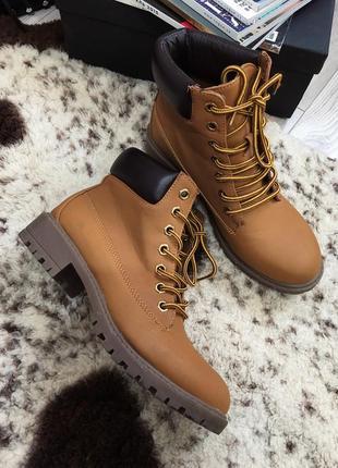 Ботинке в стиле timberland2