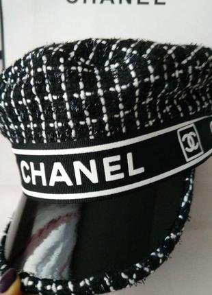 Кеппи женское кепи женский кепка женская стильная черная2 фото