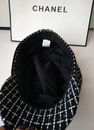 Кеппи женское кепи женский кепка женская стильная черная4 фото