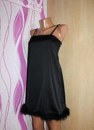 Вечернее черное платье р м3
