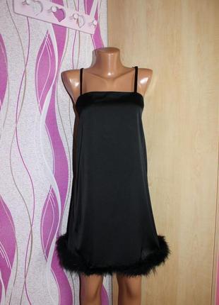 Вечернее черное платье р м
