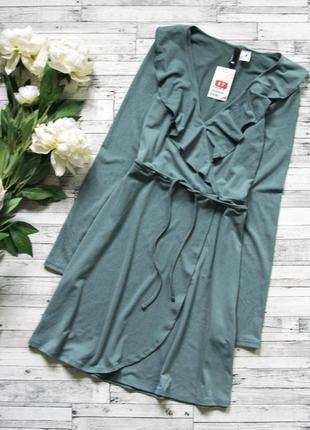 Платье на запах h&m1