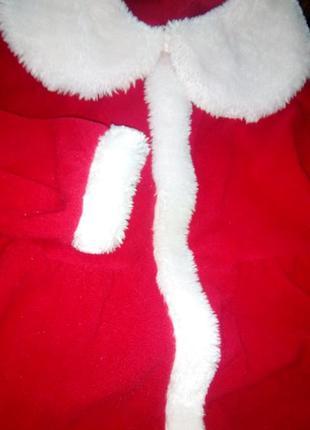 Новогодний костюм санты!1