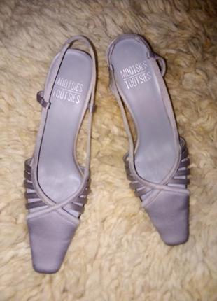Атласные туфли1 фото