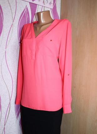 Шифоновая блузка, блуза, рубашка george р. м1