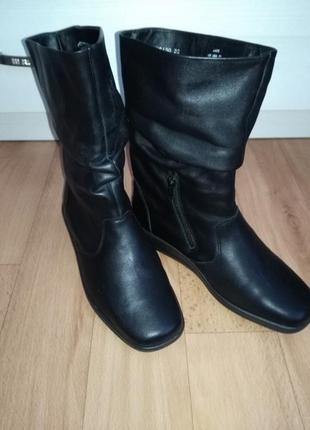 Кожаные ботинки,полусапожки2