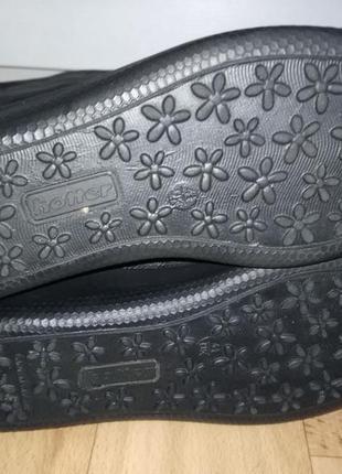 Кожаные ботинки,полусапожки4