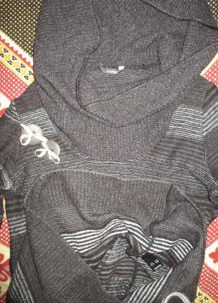 Теплое платье-свитер . george.пог.50-70см3