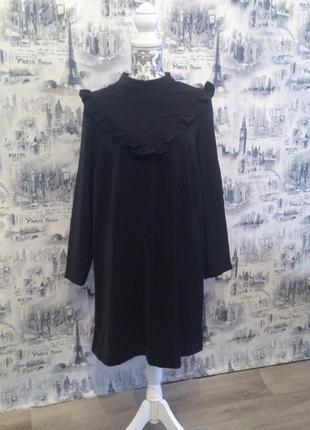 Платье\туника с воланом h&m+ {52 размера - xxl}2