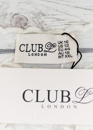 Кружевная блуза от club london  рр 16 наш наш 503