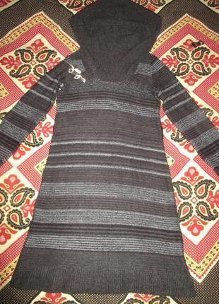 Теплое платье-свитер . george.пог.50-70см5