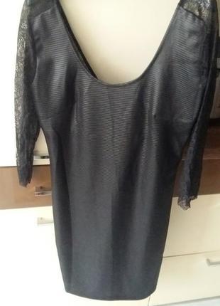 Плаття mango з красивою спинкою, ажурними рукавами3