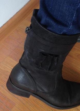 Полусапожки  ботинки деми вelmondo,кожа, новые, португалия, на размер 381