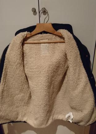 Теплая курточка-парка фирмы zara4