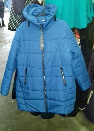 Зимнее пальто размер 62!1