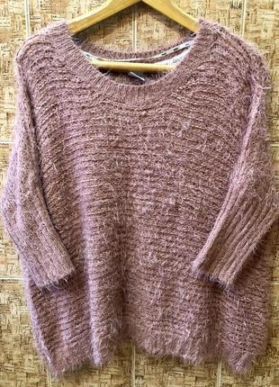 Шикарный фирменный свитер р.l/xl, в идеале.1 фото