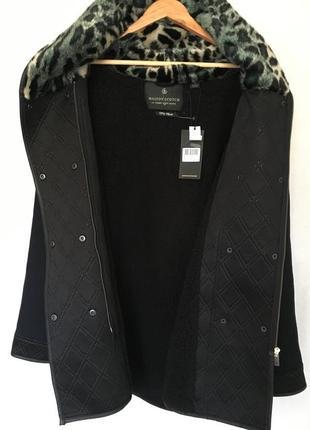Зимнее полу-шерстяное пальто-парка от премиум бренда maison scotch2