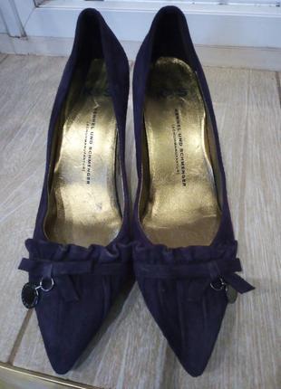 Туфельки кожаные kennel und schmenger2