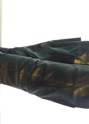 Кожаные зимние сапоги в размере 39,акция- последняя пара)3