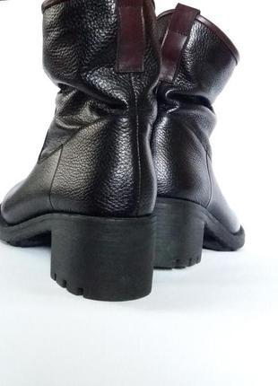 Люкс качества кожаные утепление сапоги полусапожки в размере36, 37,38,393 фото