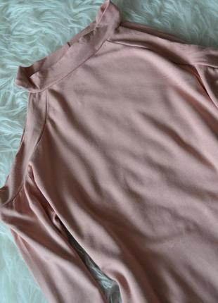 Боди с вырезами на плечах asos4