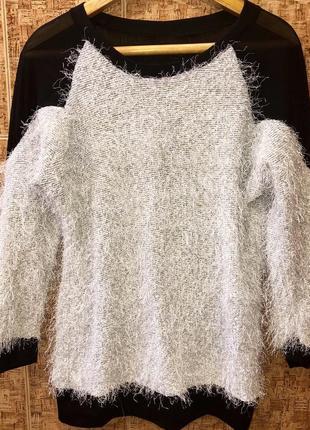 Шикарный свитер р.m/l joie claire италия 🇮🇹 новый.1