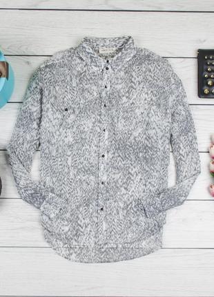 Блуза шифоновая от m&s рр 12 наш 461