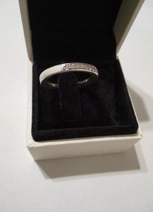 Серебряное кольцо в стиле пандора1