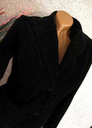 Роскошный бархатный пиджак/ жакет h&m размер eur 38/ 402