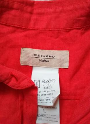 Лляна сорочка рубашка блуза3