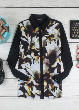 Блуза шелковая от kaleidoscope рр 12 наш 461