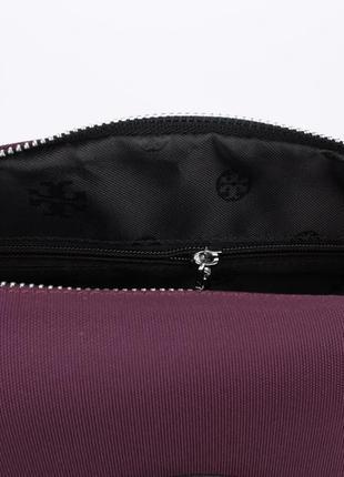 Стильная текстильная сумочка  1624 фиолетовая5