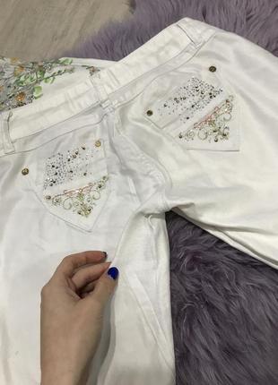 Штаны белые2