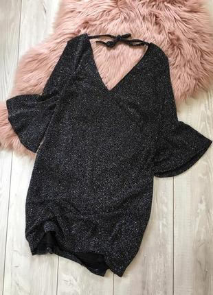 Платье с актуальным рукавом1