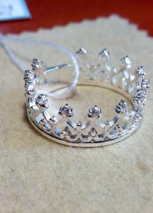 """Серебряное кольцо""""корона"""""""