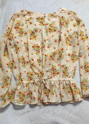 Блузка,блюза,открытая спинка сзади2